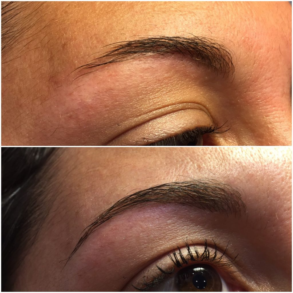 paradis du regard - extension de sourcils