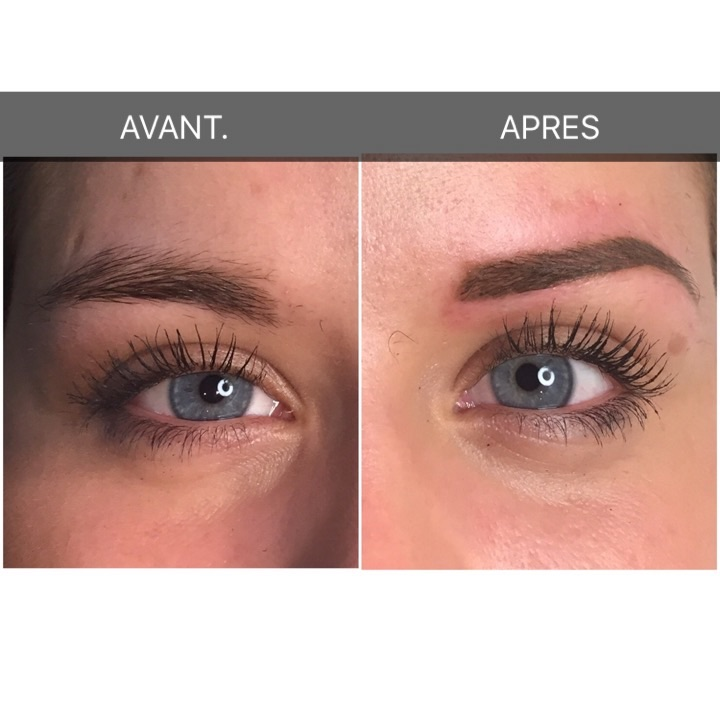 Paradis du regard - restructuration sourcils